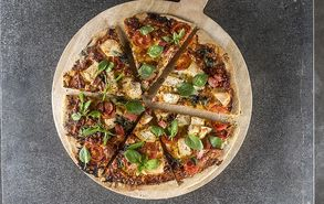 Recipe thumb pizza bbq me kotopoulo