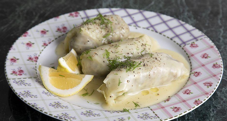 Greek cabbage rolls