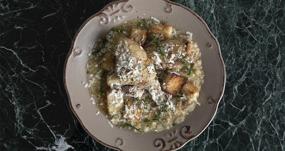 Chicken with trahana