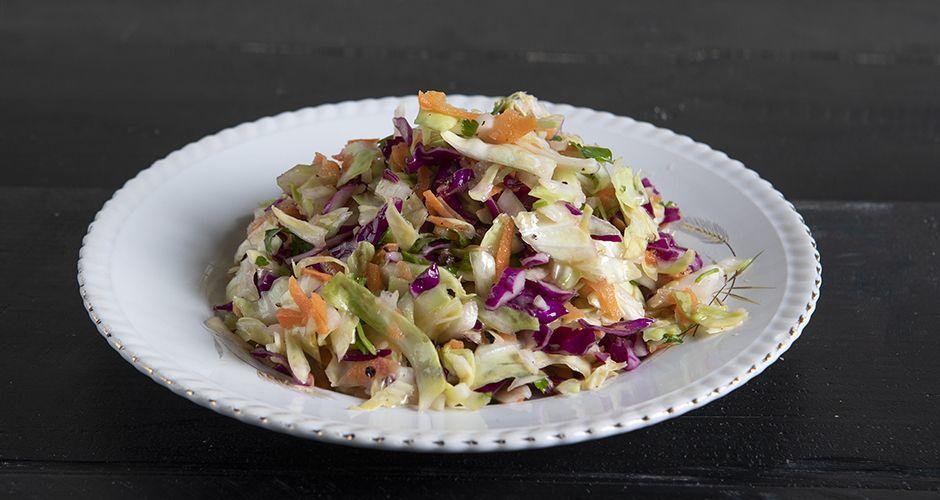 Greek cabbage salad -Politiki