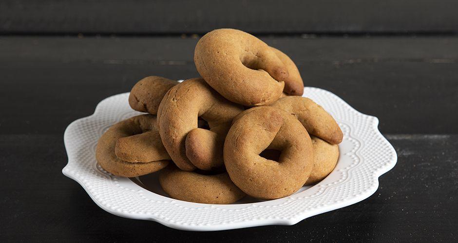 Greek Grape must cookies - Moustokouloura