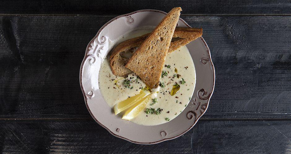 Artichoke velvet soup