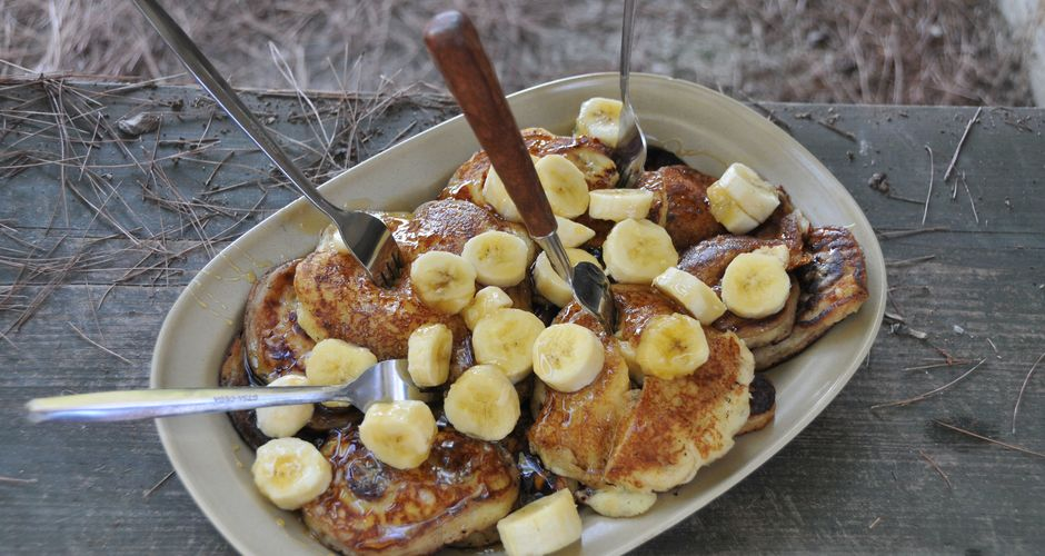 Banana-Yogurt Pancakes