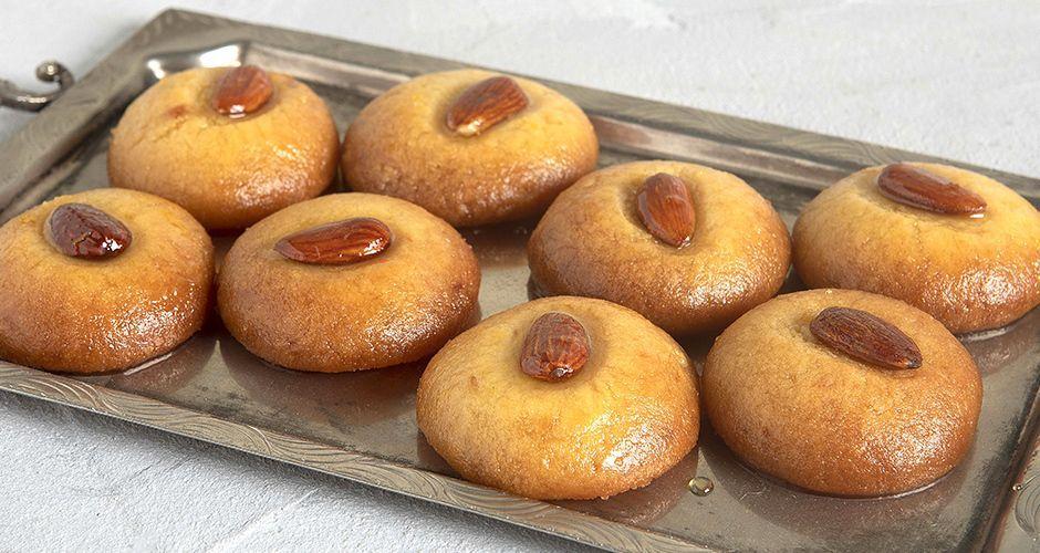 Sekerpare - Semolina cookies in syrup