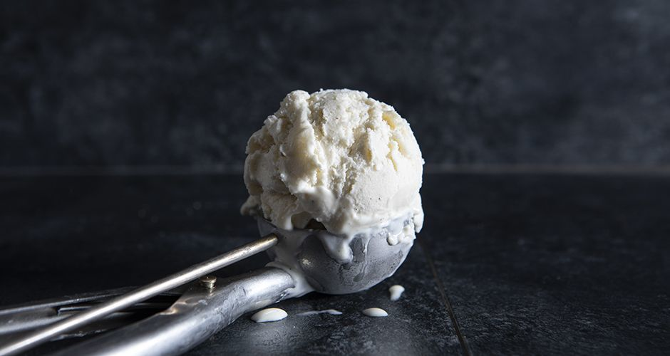 Cream cheese ice cream
