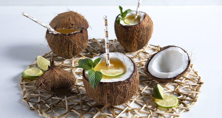 Coconut fruit punch