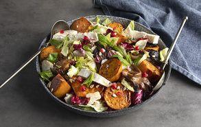 Recipe thumb salata me glikopatates kai manitaria