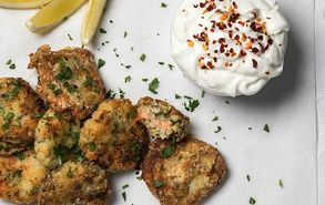 Recipe thumb patatokeftedes me solomo fishcakes site