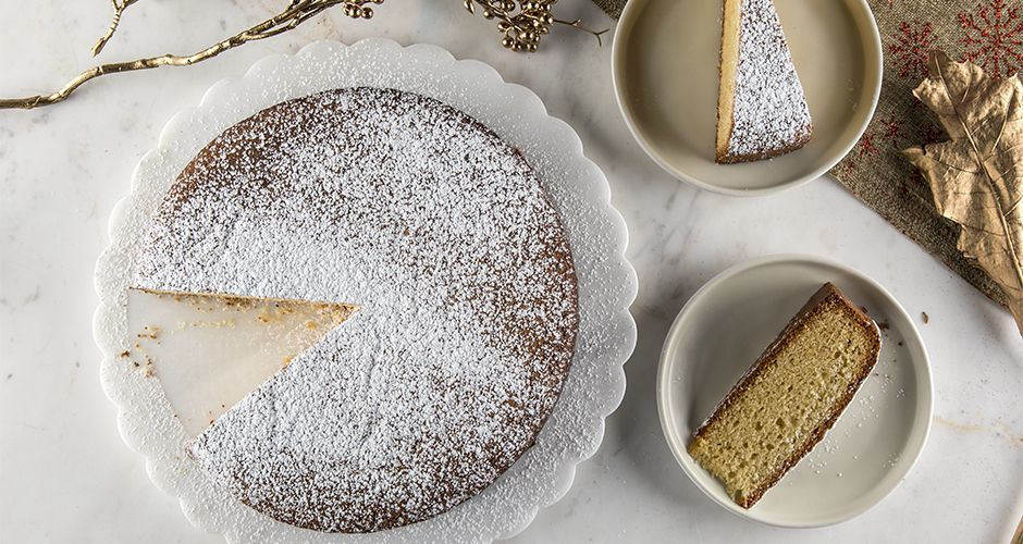Greek New Year's cake - Vasilopita