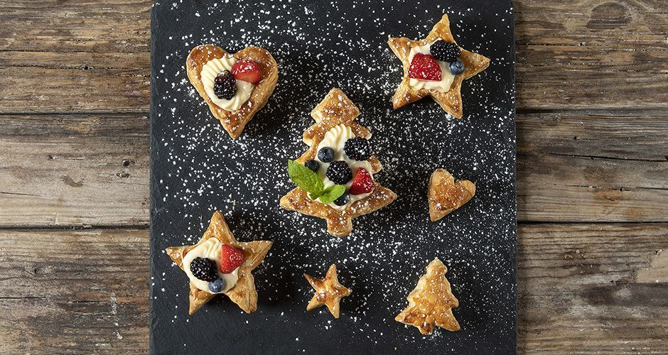 Christmas vol-au-vents