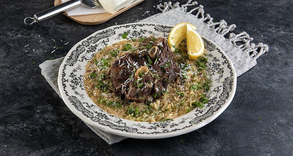 Pressure-cooker Greek goat stew