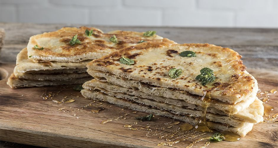 Cretan mizithra cheese pie – Sfakiani
