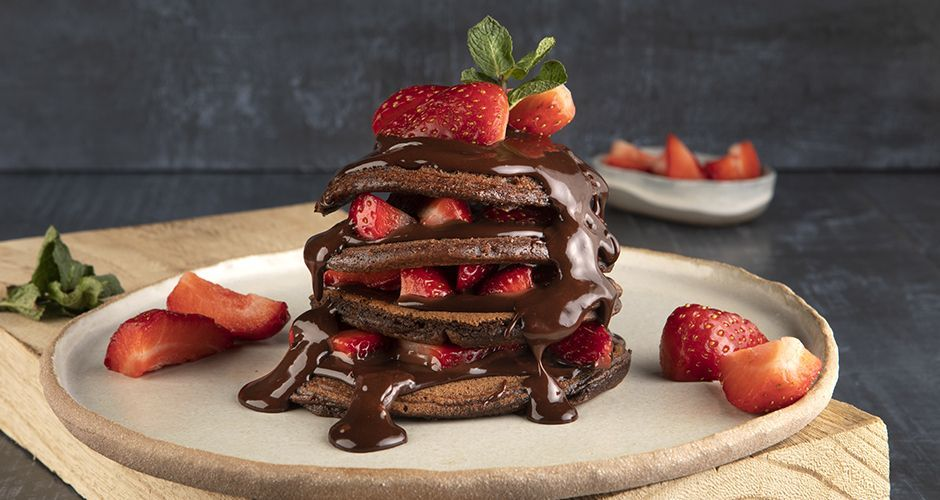 Chocolate Pancakes Recipe Akis Petretzikis