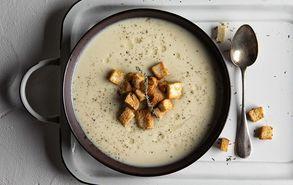 Recipe thumb soupa me praso kai patates site