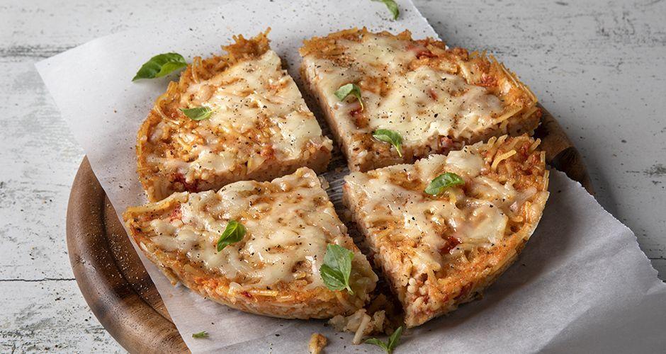 Πίτσα από ζυμαρικά