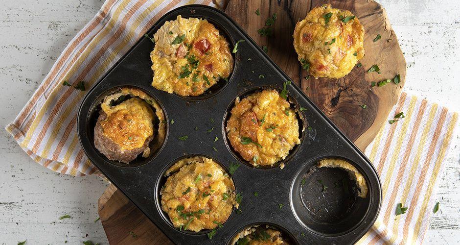 Muffins με κιμά