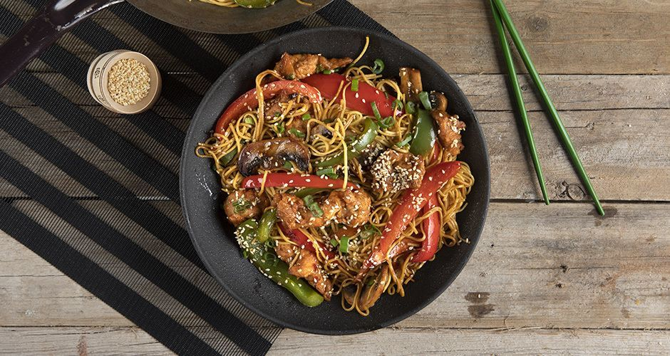 Recipe main stir fry me kotopoulo