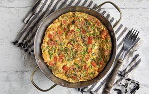 Recipe thumb omeleta me ntomata konfi site