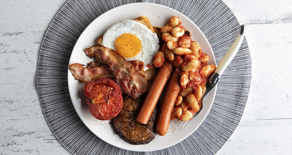 English breakfast με γίγαντες