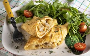 Recipe thumb omelette with chicken site