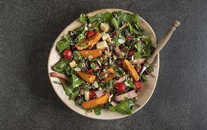 Recipe thumb salata me kolokitha kai mpeikon
