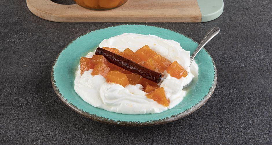 Pumpkin spoon sweet