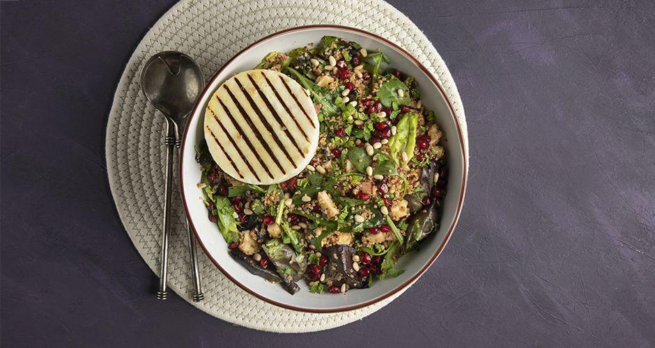 Recipe main xeimoniatiki salata me manouri