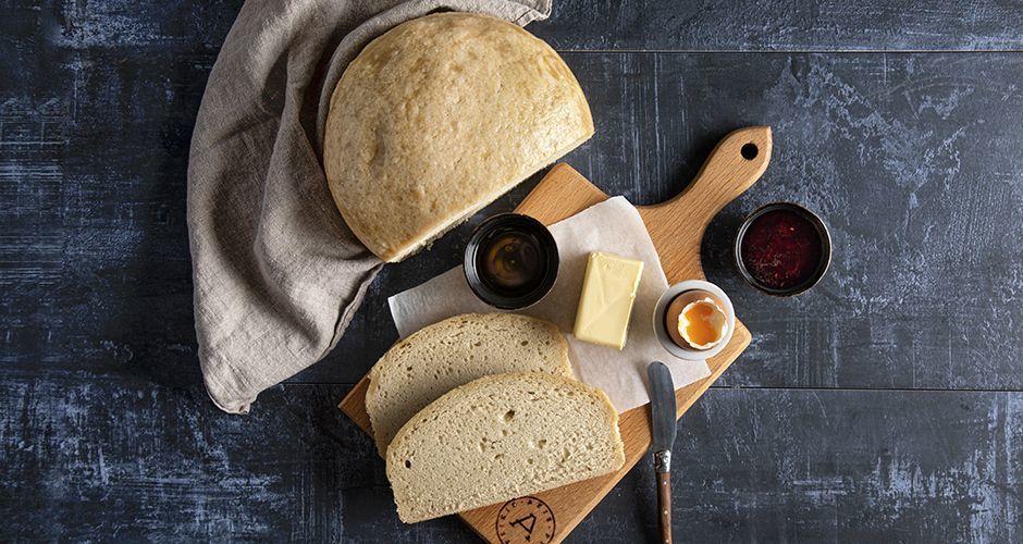 Pressure-cooker bread