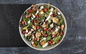 Recipe thumb pikantiki salata me kotopoulo kai manitaria
