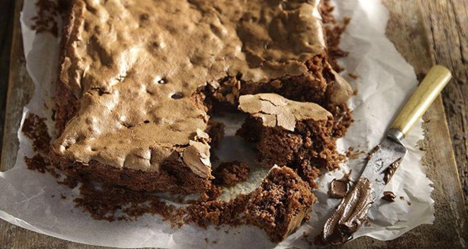 Vegan Chocolate and Tahini Brownies