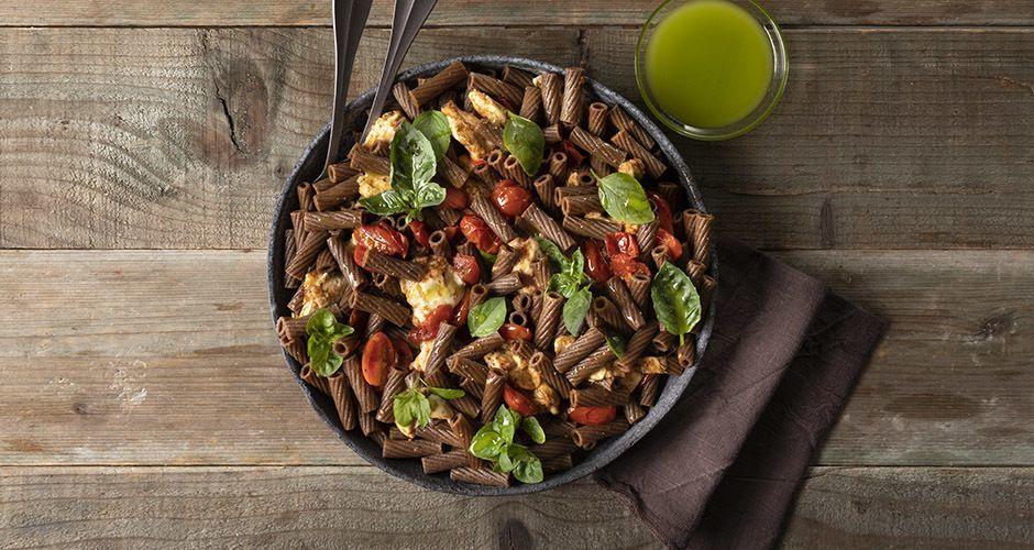 Whole-wheat Caprese pasta salad