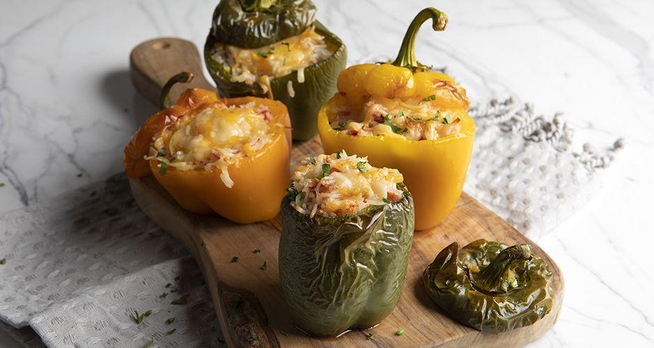 Γεμιστές πιπεριές