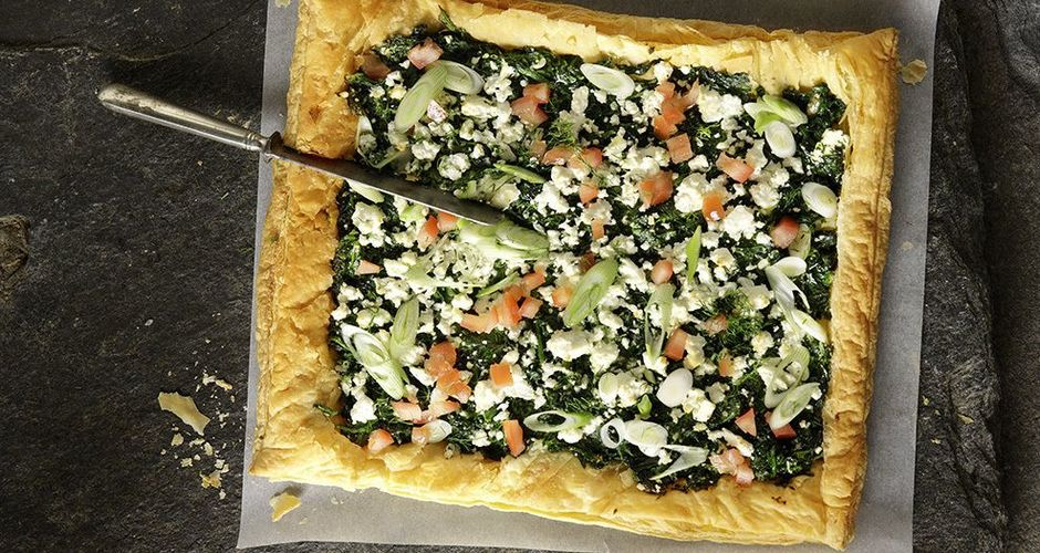 Easy Greek spinach pie
