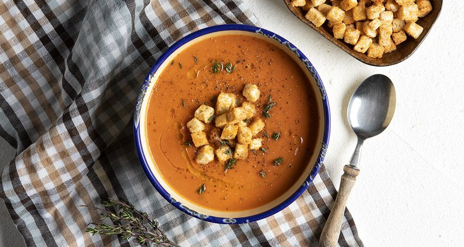 Recipe main soupa ntomata me psomi site