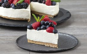 Recipe thumb cheesecake me frouta tou dasous