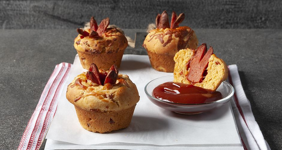 Recipe main corn dog muffins