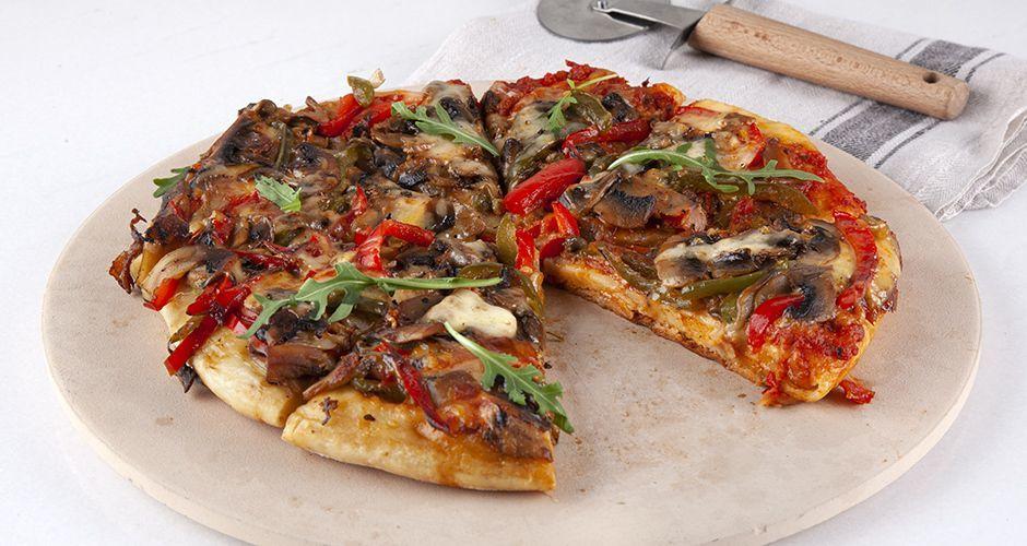 Recipe main pizza sto tigani