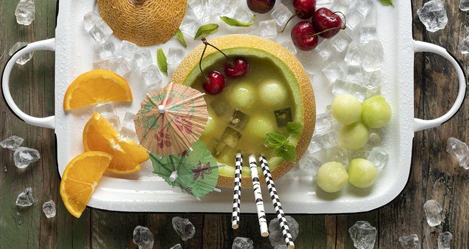 Fruit punch πεπόνι
