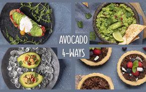Recipe thumb 4 ways avocado