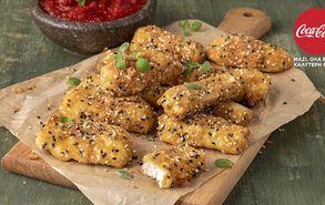 Recipe thumb xaloumi nuggets