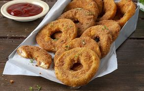 Recipe thumb gemista onion rings