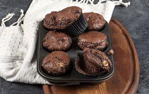Recipe thumb muffins triplis sokolatas site