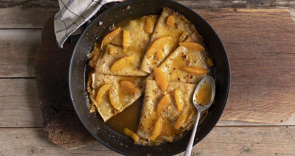 Recipe main crepes suzettes