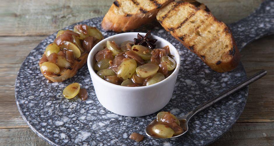 Recipe main chutney stafili
