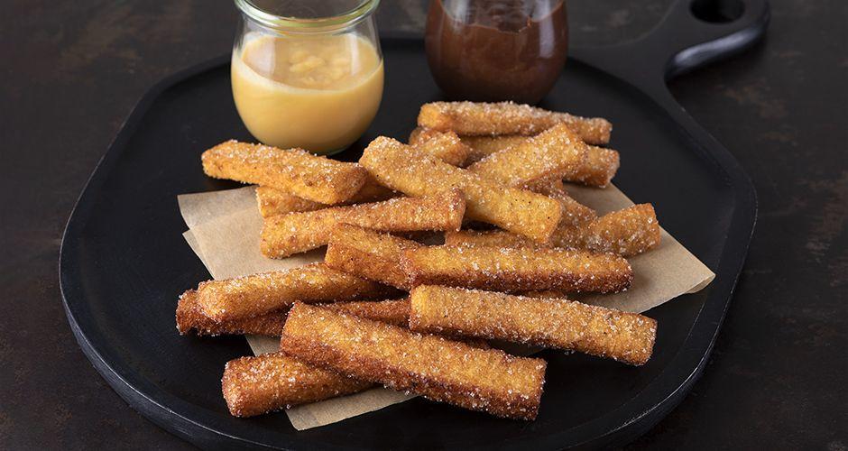 Recipe main eukola churros me psomi tou tost site