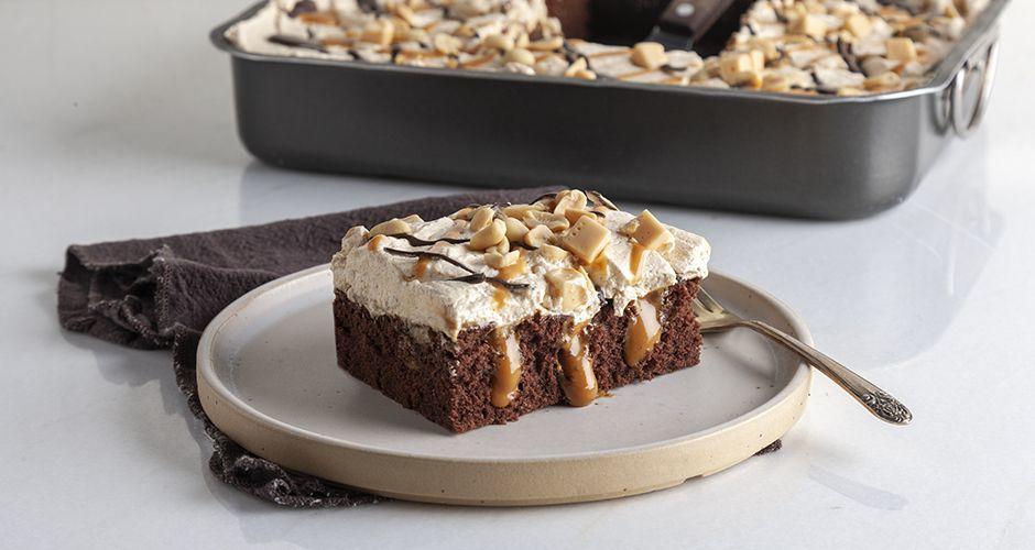Recipe main poke cake me dulce de leche