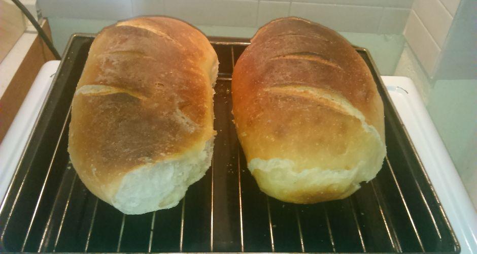Παραδοσιακό ψωμί με προζύμι
