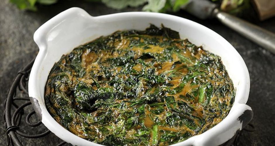Wild Greens Omelet