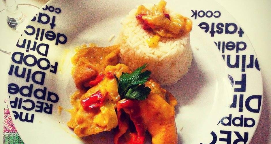 Ασιατικό κοτόπουλο με τυρί κρέμα