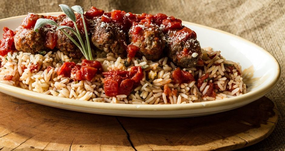 Greek Soutzoukakia Meatballs with Sage